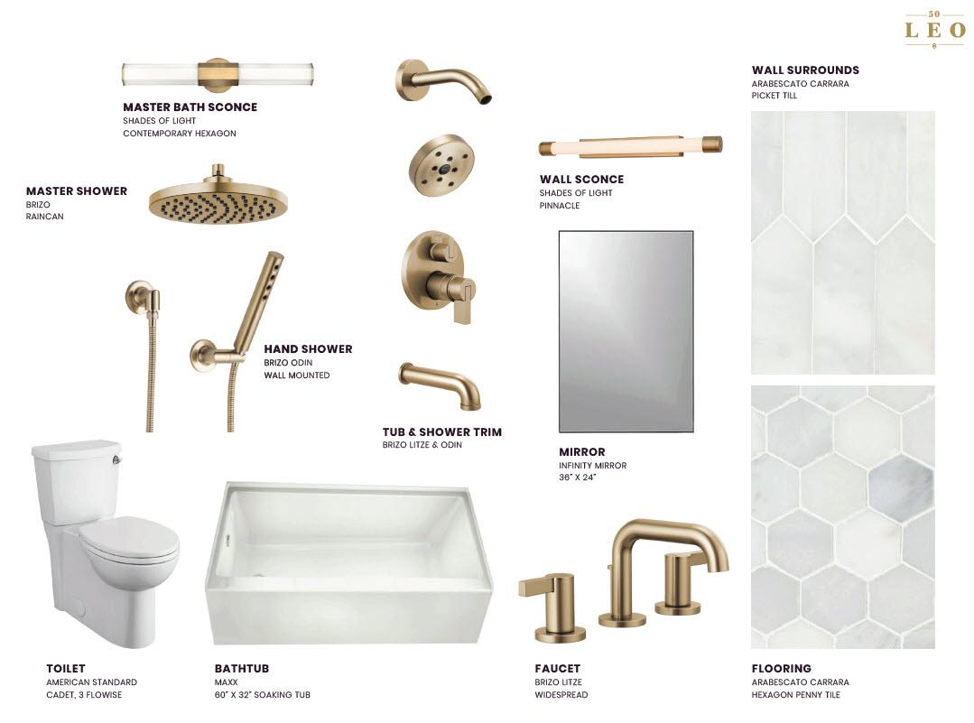 50 leo luxury condos in brighton- bathroomfinishes