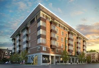 BRIX Salem Condominiums Exterior Rendering