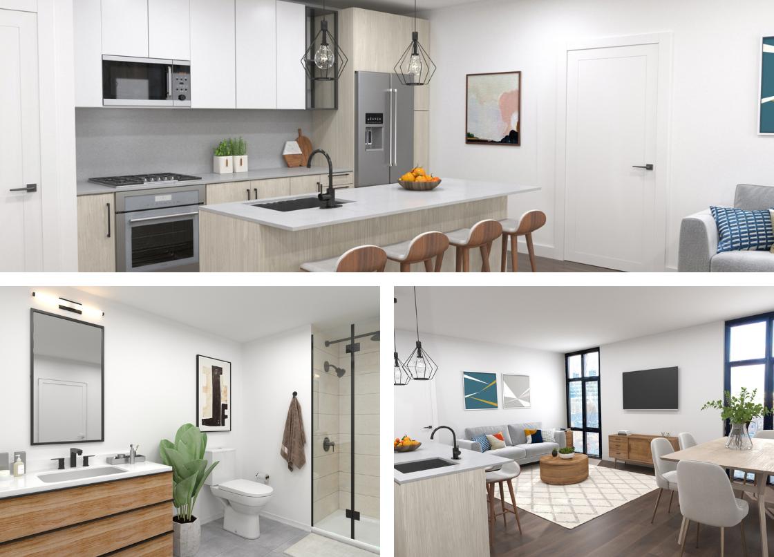 Brand new development Allston condos for sale at Arthaus