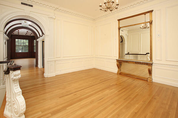 the ornate detail in this space provides a unique rental opportunity