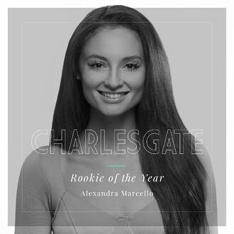 Rookie of the Year Ally Marcello at Charlesgate