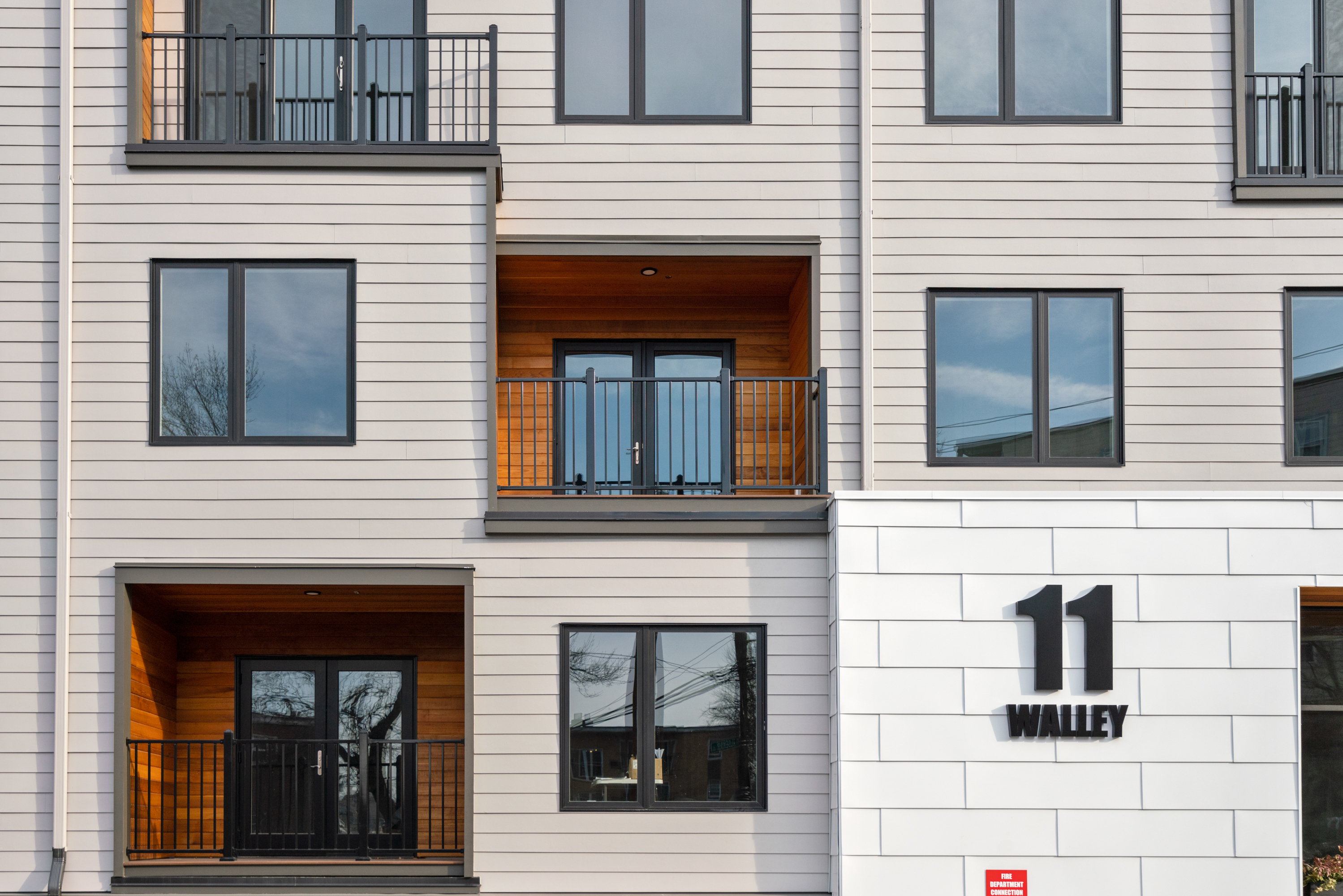 East Boston condos at The Pacer exterior architecture