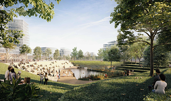 open space created in east boston near orient heights with suffolk downs redevelopment