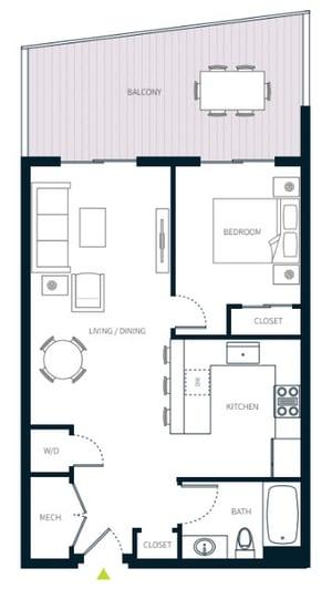 stadia50 unit 310 floor plan